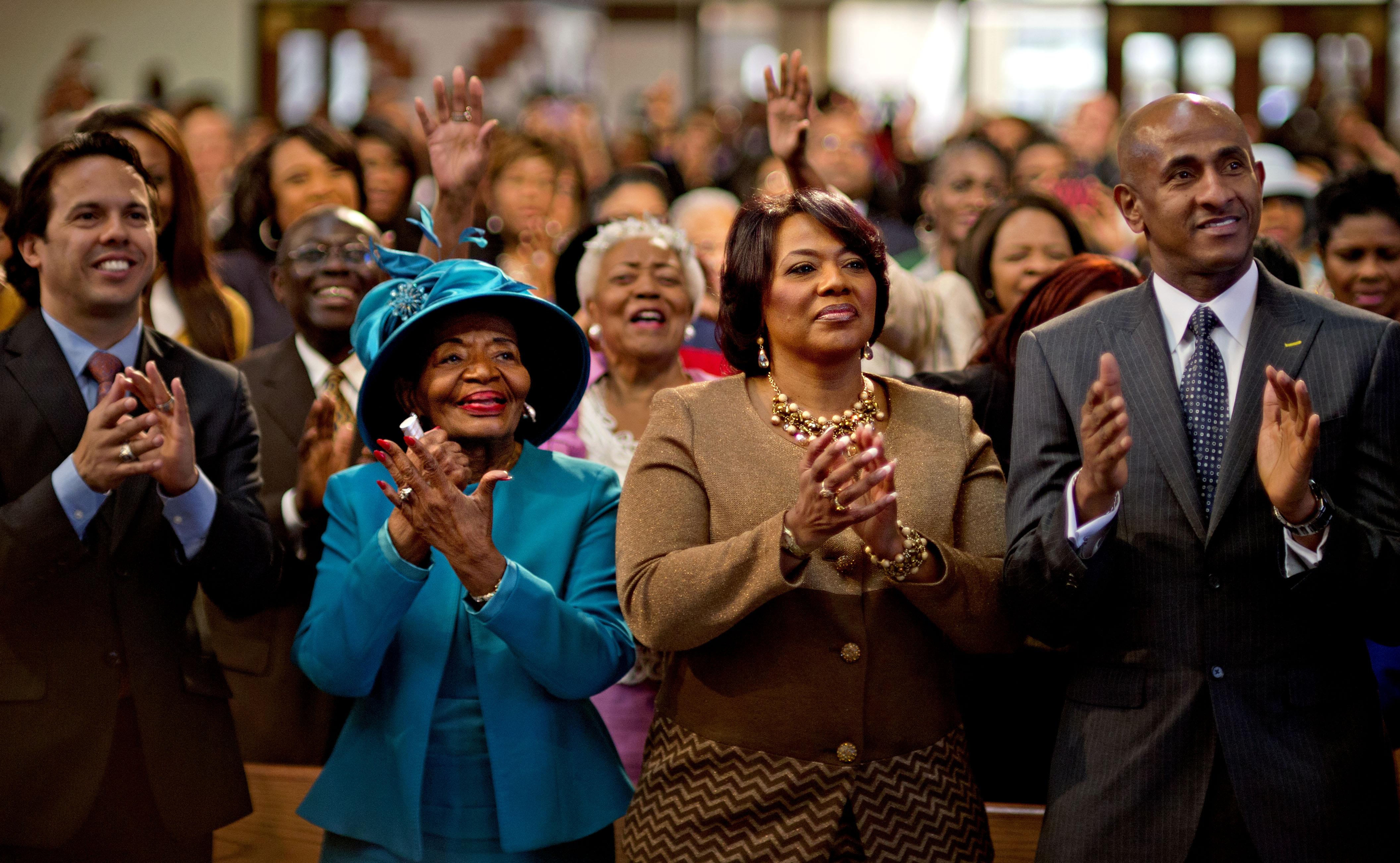 Church service 45